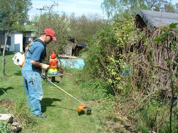 Frühjahrsarbeiten 2005